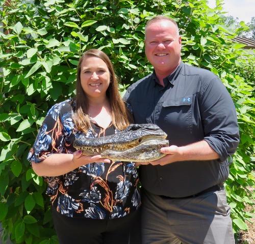 Mikel & Nicole Alligator